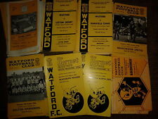 Watford HOME programmes 1962 1963 1964 1965 1966/67 choose from list FREE UK P&P