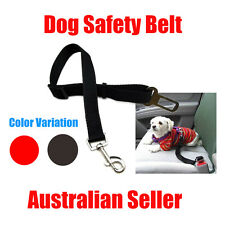 Adjustable Car Vehicle Cat Dogs Pet Seatbelt Seat Safety Belt Harness Lead aus