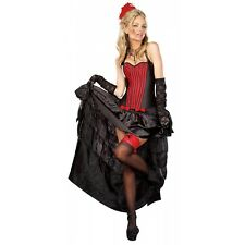 Burlesque Skirt Costume Adult Halloween Fancy Dress