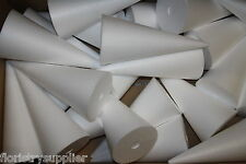 26cm styropor polystyrene cones ideal 4 christmas decoration sweet trees ribbon
