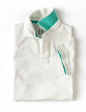 Boden Men's Brand New Plain Piqué Polo T-shirt Off White Cotton