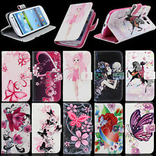 Cute Leather Stand Wallet For Samsung Galaxy S3 SIII i9300 Hard Skin Case Cover