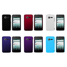 Hard Rubberized Matte Snap-On Cover Case for ALCATEL OT-4010 One Touch T'PoP
