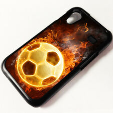Cover for Samsung Galaxy Ace s5830 Football Ball Fire Boots Cool Boy Case  8013