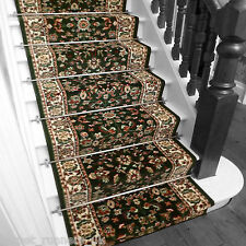 Persian D/Green - Stair Carpet Runner Narrow Staircase Traditional Quality Cheap