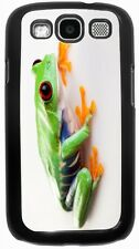 Rikki Knight Crazy Frog Close-Up Case for Samsung Galaxy S3 S4 S5