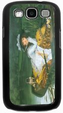 James Tissot Art A Young Woman in a Boat Case for Samsung Galaxy S3 S4 S5