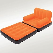 MULTI-MAX Air Couch Folding Inflatable Air Mattress Chair Bed Lounge