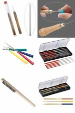 You Pick Bead Jewelry Tools Pearl Hole Reamer Steel Fine Wire Brush Files Awls