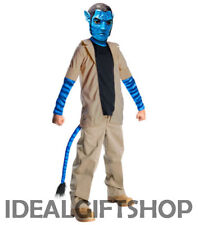 BOYS LICENSED AVATAR JAKE SULLY FANCY DRESS COSTUME CHILDRENS BOYS DRESSING UP
