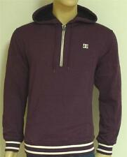DC Shoes Mens Purple Half-Zip Pullover Hoodie Sweatshirt Jacket New NWT