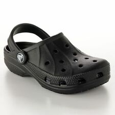 Crocs Kids Feat / Ralen Black All Size C6/7 C8/9 C10/11 C12/13 J1 J2 J3