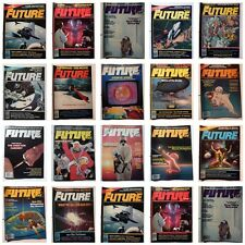 FUTURE LIFE MAGAZINE - SELECT FROM DROP DOWN MENU - SCI FI SCIENCE FICTION 1980s