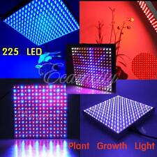 Blue/Red/Orange/White 225 LEDs Plant Grow Light Panel Hydroponic Lamp 14W US/EU