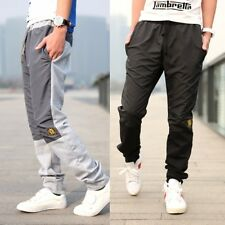 new men's casual Sports pants trousers Cotton blended Medium Male Home Pants R80