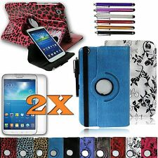 Samsung Galaxy Tab3 8.0 8-inch Tablet Leather Rotating Cover Case/Accessories