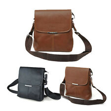 Hot Fashion Men's POLO Faux Leather Messenger Bag Shoulder Satchel Briefcase Bag