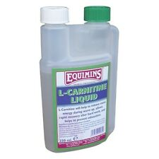 EQUIMINS L-CARNITINE prevents exhaustion rapid energy release race event horses