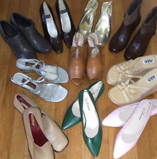 Women's Heels Shoes by Nine West, Clarks, Comfort View Etc: 6 6.5 7 7.5 8 10 7WW