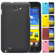 For Samsung Galaxy Note N7000 i717 Snap On Rubberized Hard Case Cover