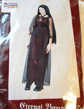 Eternal Vampira Vampire Adult Costume Dress S M NIP