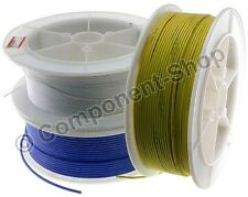 2 metres super flexible 14AWG Silicon Wire RED BLACK BLUE GREEN YELLOW WHITE