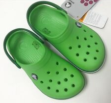 Crocs Kids' Crocband Boys Girls Lime Kerry Green All Size SALE!!!