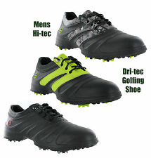 New Mens Hi-Tec V-Lite Splash Golf Waterproof Light Shoes Trainers Size 6-12 UK