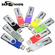 1-32 GB BESTRUNNER USB 2.0 Flash Memory Pen Drive Storage Thumb Stick Foldable