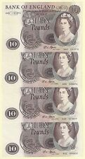 Bank of England Lion Design £10 Note FFORDE - B316 A Series - AU to UNC