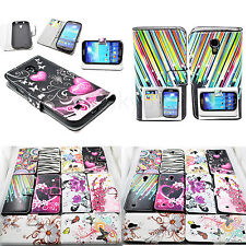 Flip Wallet Leather Skin Cover Case Accessories For Samsung Galaxy S4 S IV i9500