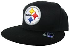 Pittsburgh Steelers Reebok Black NFL Fitted Hat
