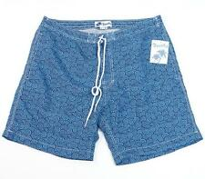 Trunks Surf & Swim Co. Blue Swami Swim Shorts Swim Trunks Boardshorts Mens NWT