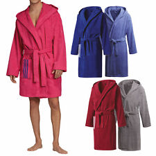 Adidas Bathrobe - Damen Bademantel Saunamantel Baumwolle Morgenmantel