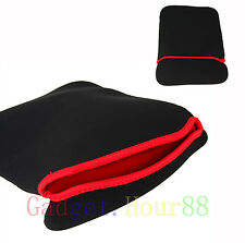 "Neoprene Sleeve Reversible Bag Skin pouch Case cover FOR PC Tablet 9"" 9in 2014"