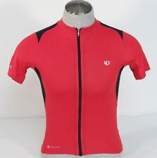 Pearl Izumi Elite Pursuit Red Full Zip Short Sleeve Cycling Jersey Mens NWT