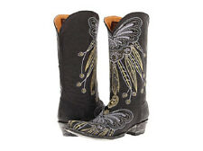 NEW IN BOX OLD GRINGO LAKOTA BLACK  L1135-3 WOMENS COWBOY BOOTS $570 RETAIL