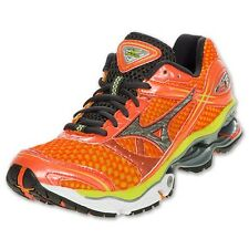 Mizuno Womens Wave Creation 13 Orange Training Running Sneakers Shoes Kicks