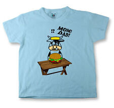 Kids Funny Sayings T Shirts Mom? Dad? Funny Images Tees