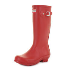 Kids Boys Girls Childrens Red Hunter Original Wellies Wellington Boots Size C1-C