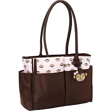 Carter's Tote Diaper Bag with Novelty Print and 4 Colors
