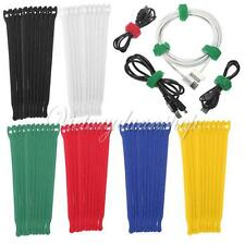 """10pcs 8""""/20cm Nylon Cable Ties Wire Strap Zip Wrap Fastening Organizer NEW"""