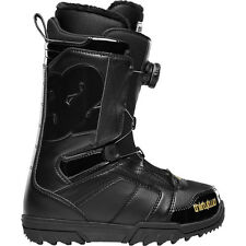 2014 NIB WOMENS THIRTYTWO STW BOA SNOWBOARD BOOTS $180 black gold 32 lashed