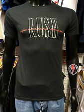 RUSH Official Uni-Sex Tee Shirt Various Sizes PERMANENT WAVES