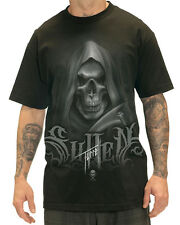 Sullen Clothing Tyrrell Reaper Mens T Shirt Black Goth Skull Tattoo Tee