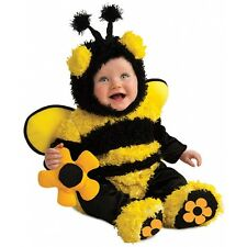 Buzzy Bumble Bee Costume for Baby with Flower Rattle Halloween Fancy Dress