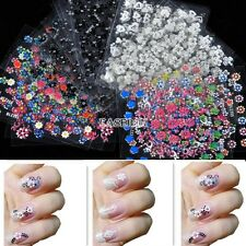 30-300 Sheet 3D Colorful Decal Stickers Nail Art Tip DIY Decoration Manicure EA