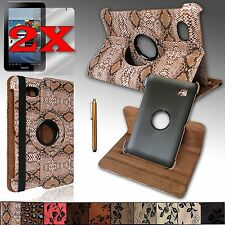 For Samsung Galaxy Tab 7.0 GT-P6210, SGH-T869 Case Cover 360 Rotating Stand NEW