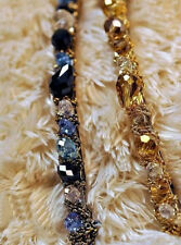 Type Retro Rhinestone Crystal Headband Barrette Hairpin Hairgrip Clips Jewelry