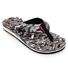 Mens Flip Flops Beach Sandals Camouflage Thongs Massage Sole Light & Comfortable